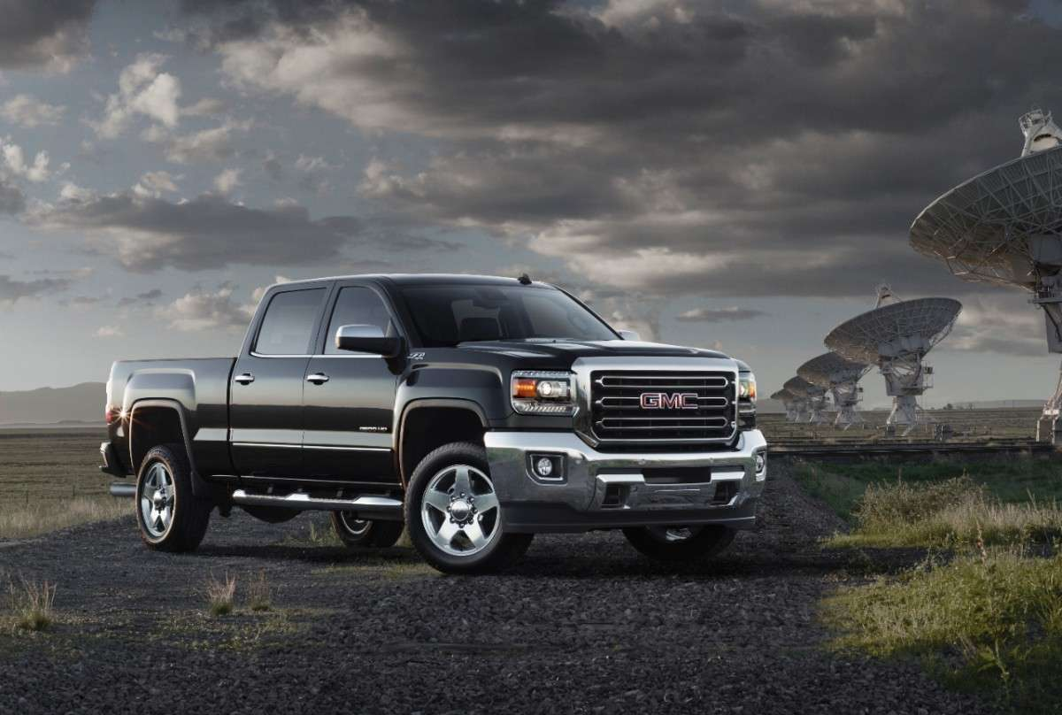 GMC Sierra 2500HD 2015 Foto: GMC