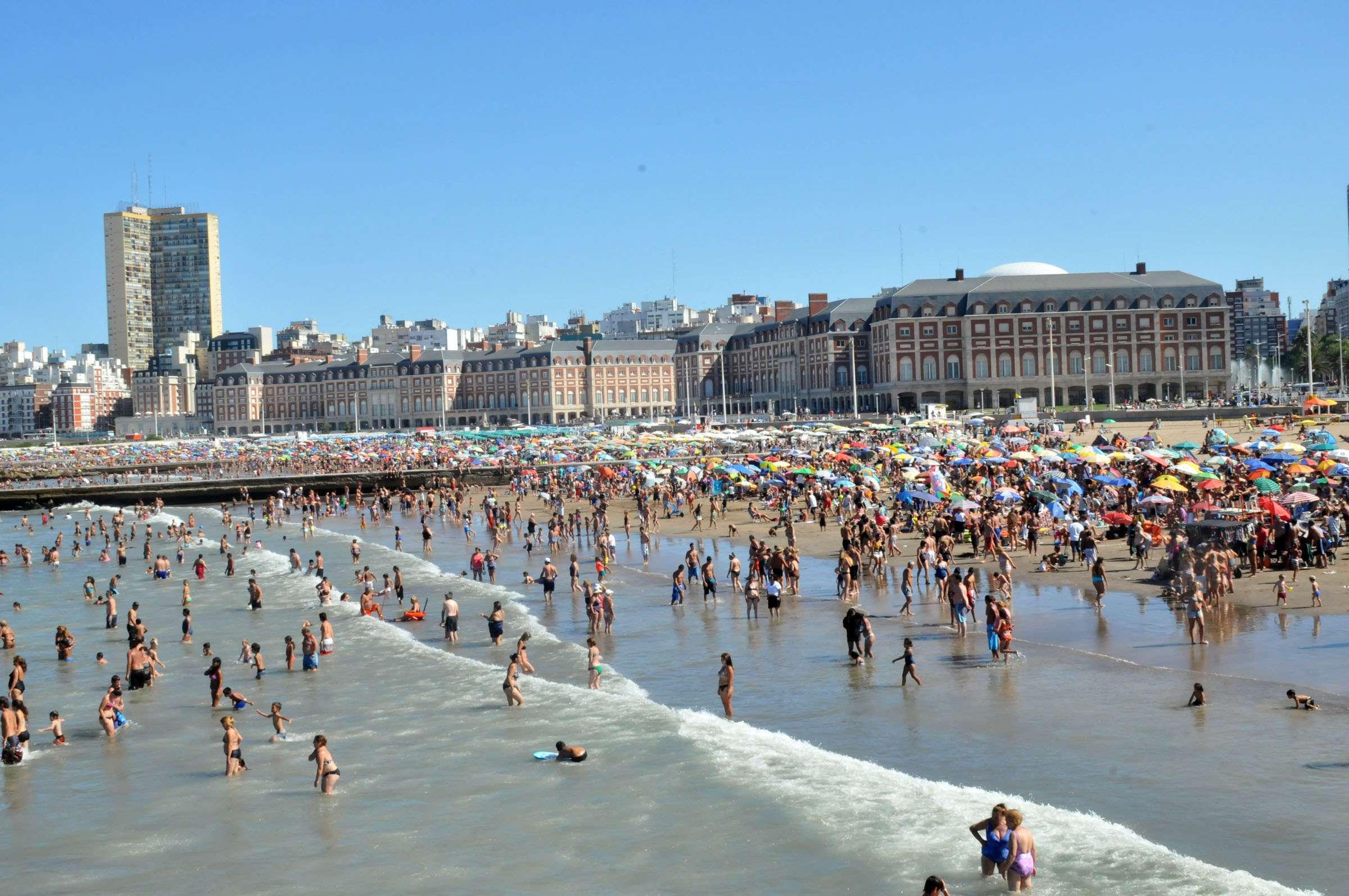 Turismo Mar del Plata Foto: Télam