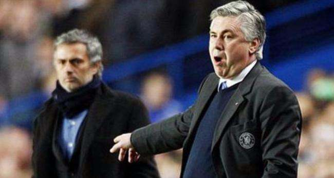 Mou y Ancelotti Foto: EFE