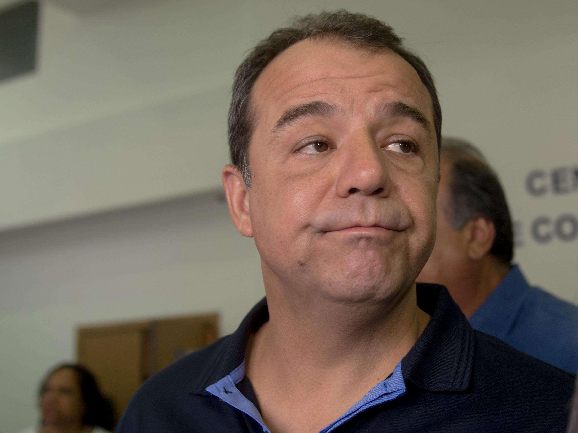 O governador do Rio, Sérgio Cabral, falou sobre a operação no Complexo do Lins Foto: Mauro Pimentel/Terra