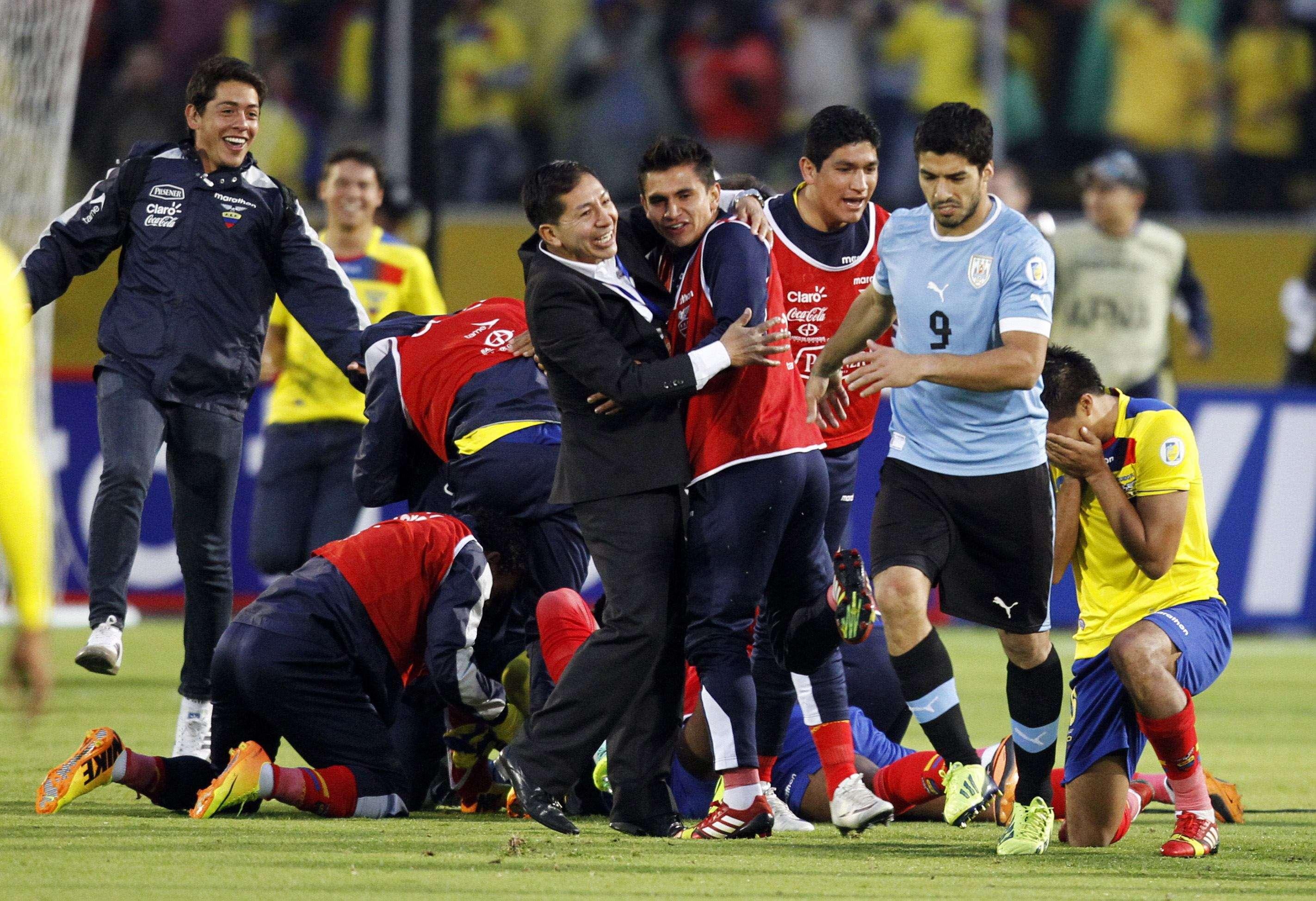 Equador bate Uruguai em confronto direto e se aproxima ...