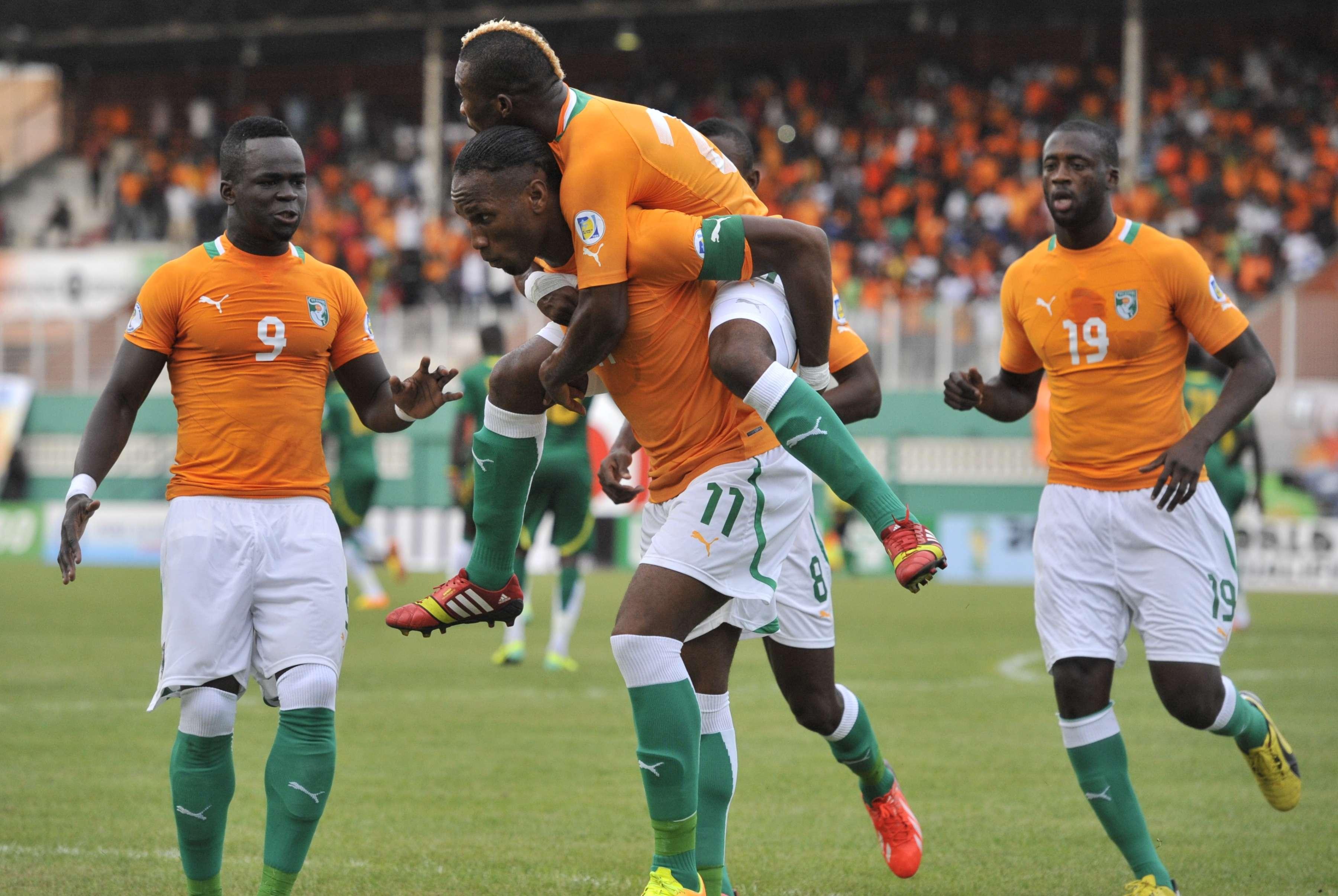 Costa do Marfim vence Senegal, mas leva gol nos acréscimos