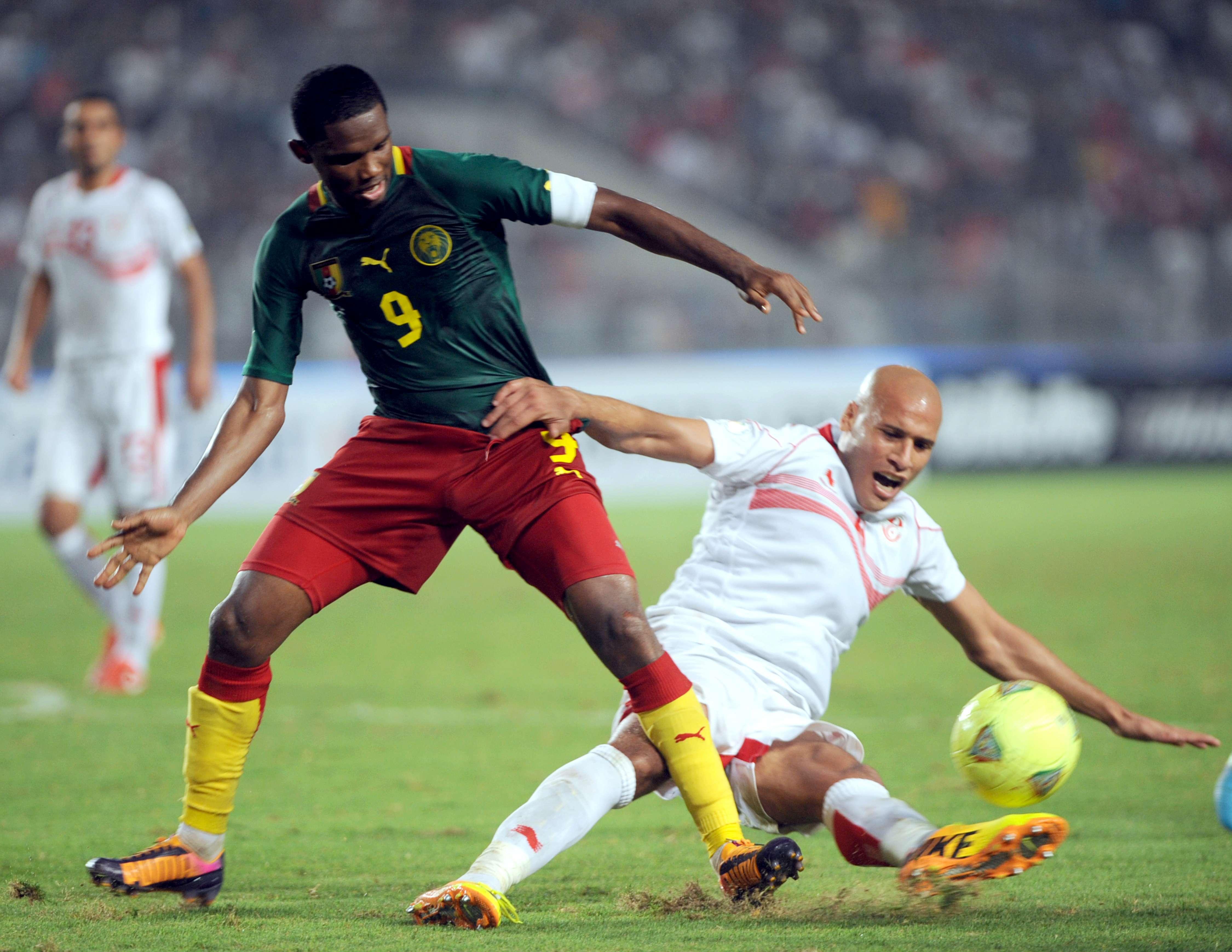 Com Eto'o, Camarões segura a Tunísia e decide vaga na ...