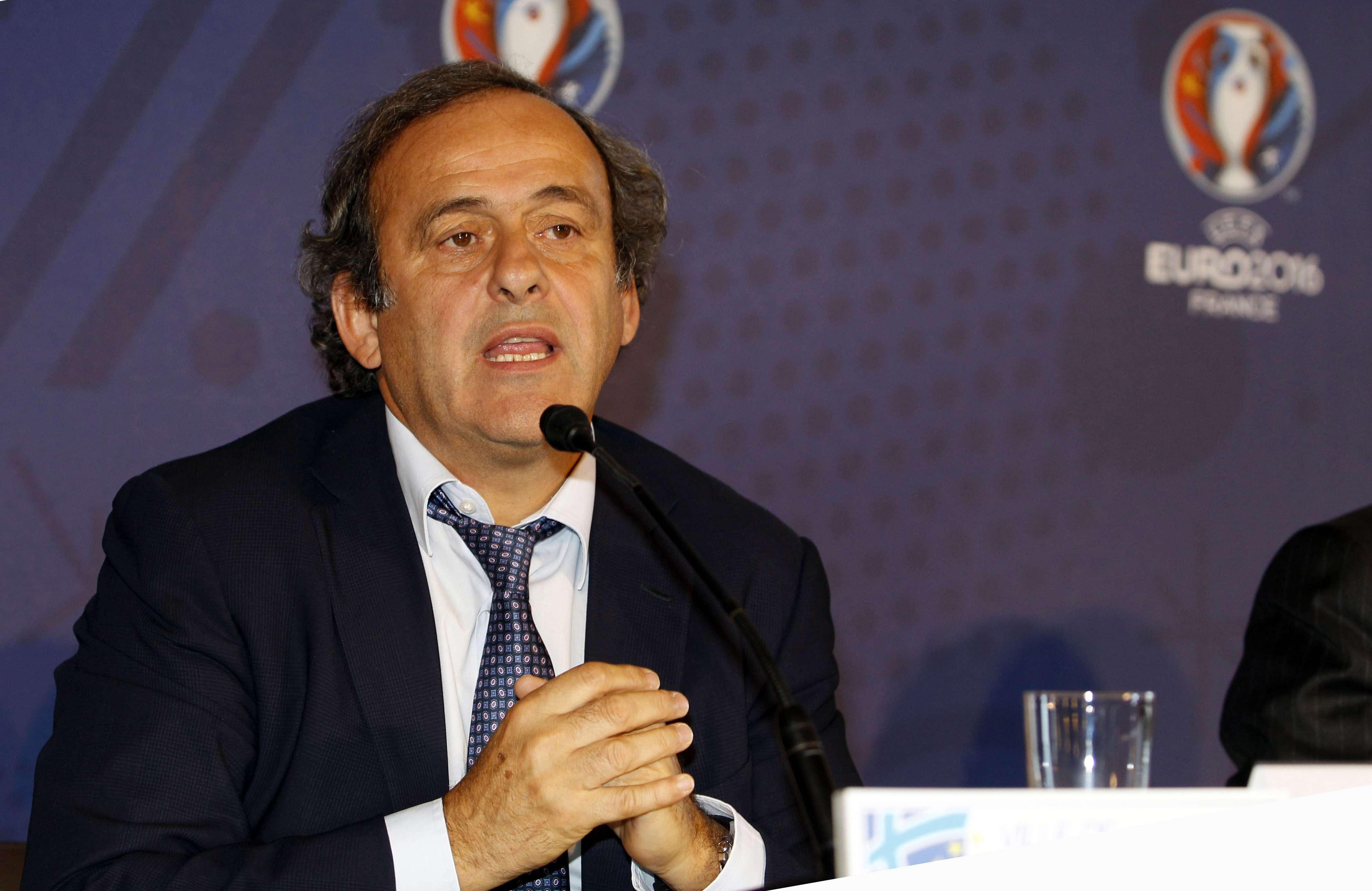 """Platini: """"Eliminación de Francia no sería el fin del mundo"""""""