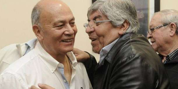 """Geronimo """"Momo"""" Venegas, candidato de Unión Fe, es hincha de Independiente como Hugo Moyano, Foto: Web."""