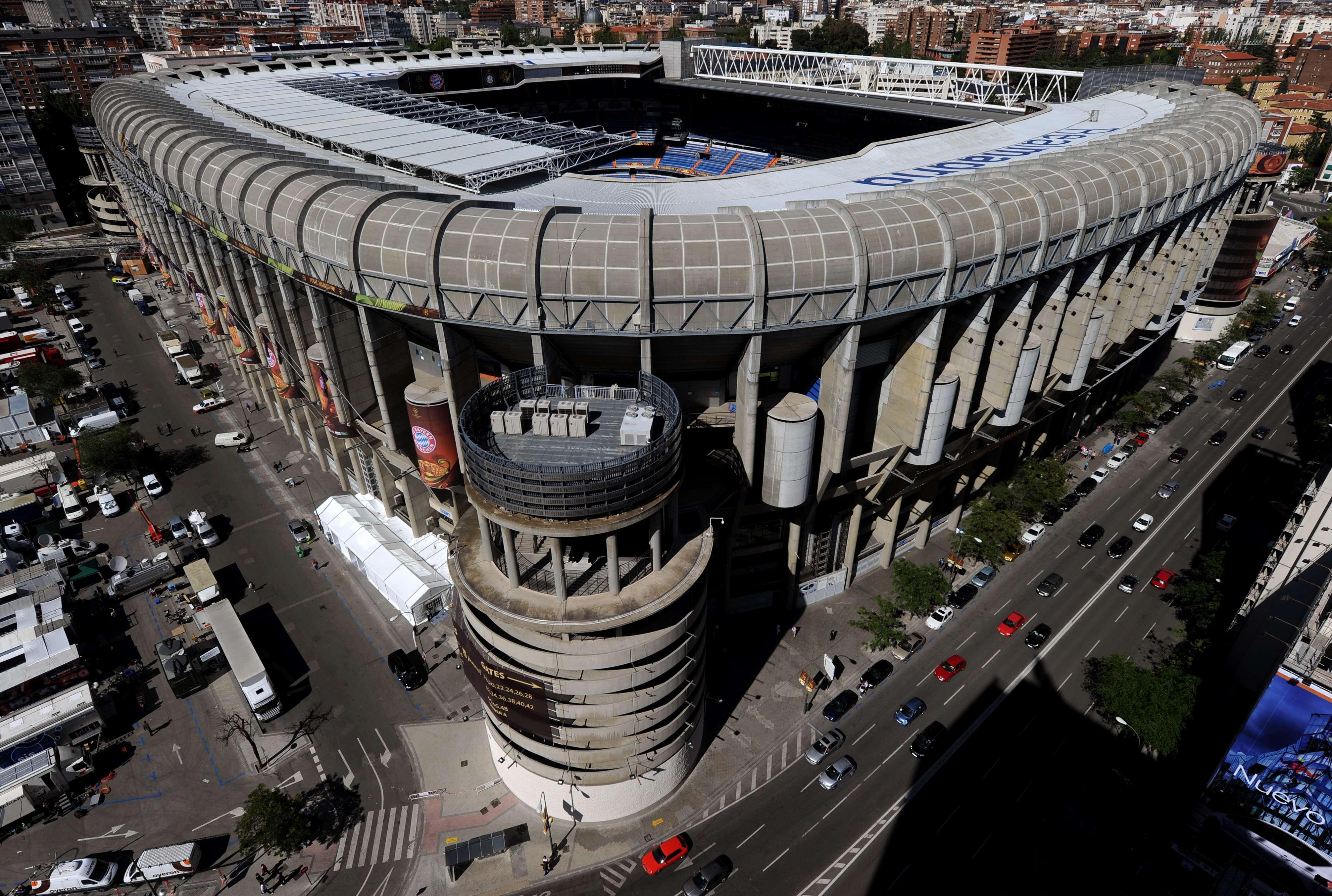 El estadio Santiago Bernabéu está cerca de ceder su nombre al de Microsoft-Santiago Bernabéu Foto: Getty Images