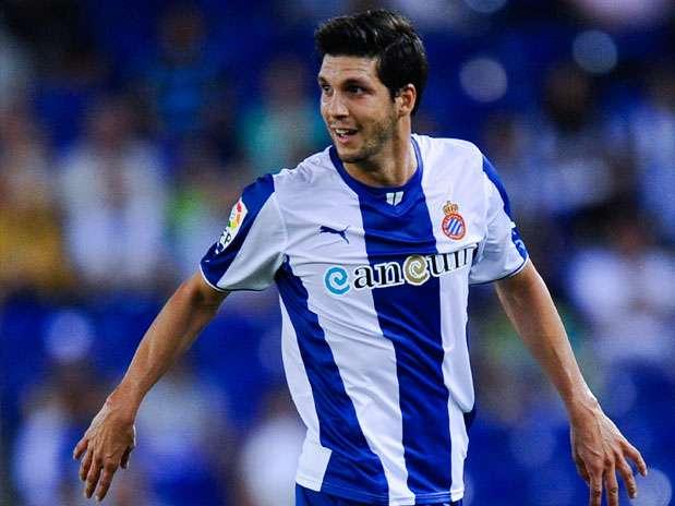 Javi López, jugador del RCD Espanyol Foto: Getty Images