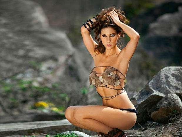Joyce Guerovich en sensual sesión de fotos Foto: Revista Soho