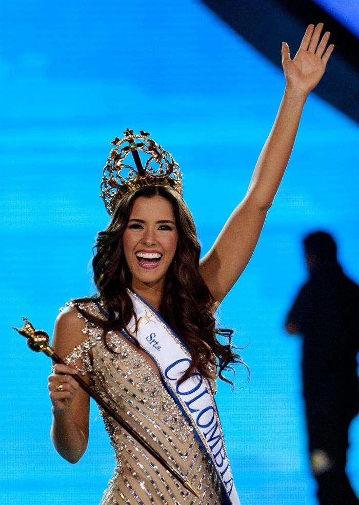 Paulina Vega Dieppa es elegida Señorita Colombia 2013