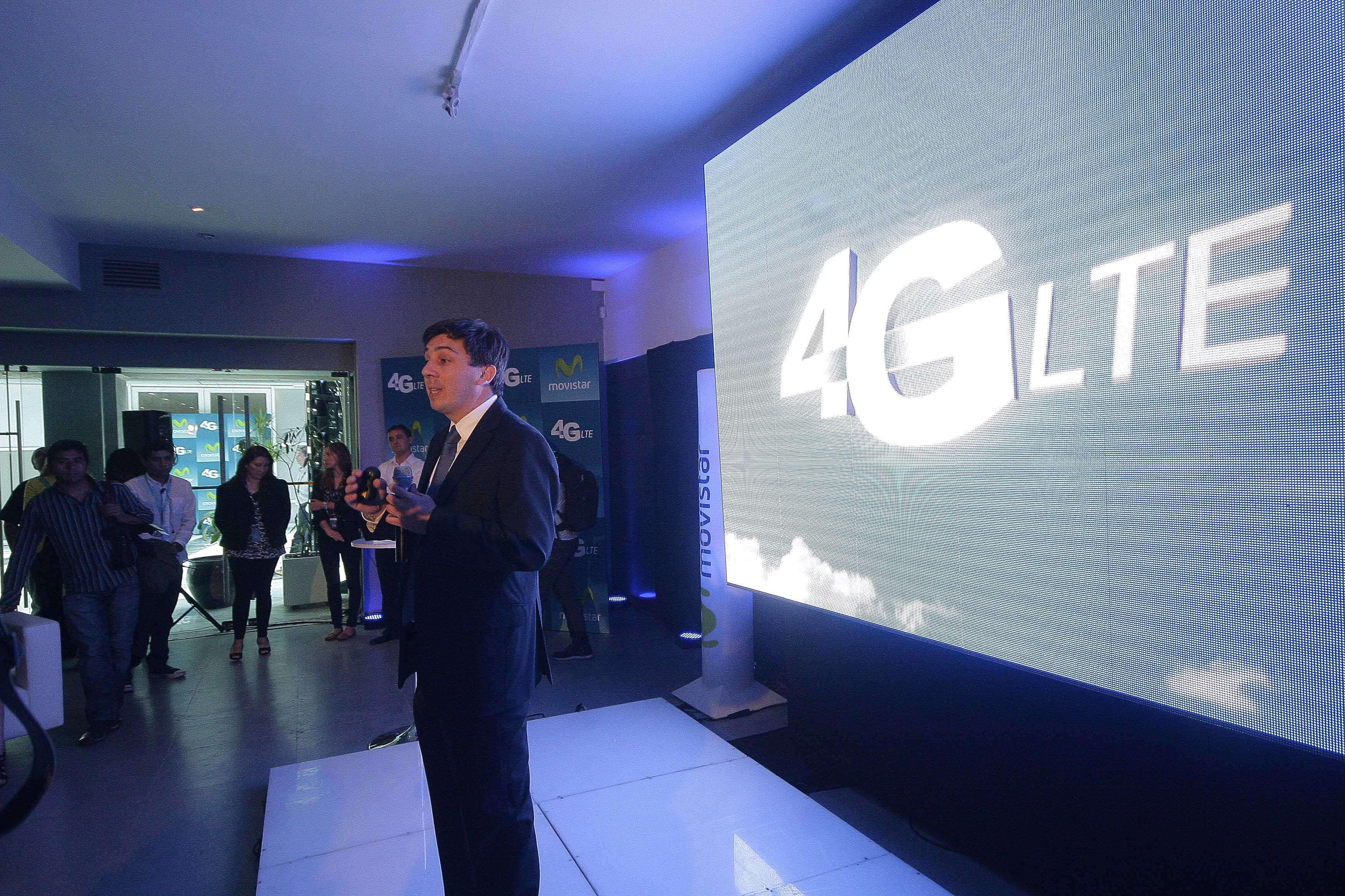 Lanzamiento de la red 4G LTE de Movistar Foto: Gentileza