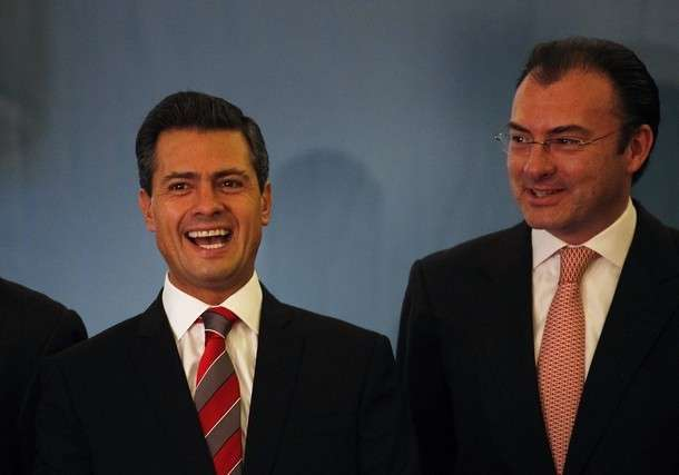 Peña Nieto y Luis Videgaray Foto: Archivo