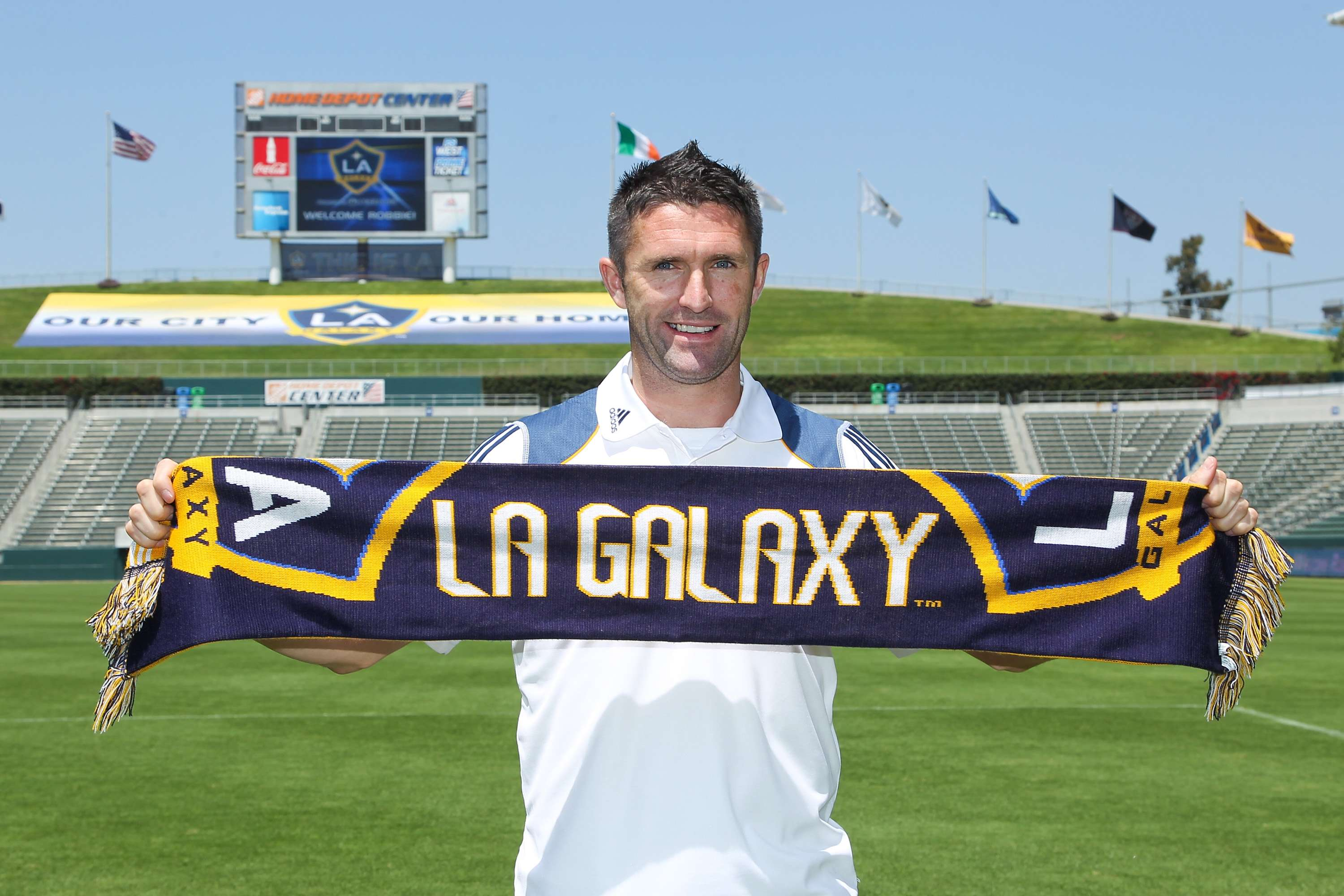 8. Robbie Keane: The Irish striker is the first big surprise on the list, managing to get large transfer fees for his transfers to Inter Milan, Liverpool and the LA Galaxy for a career total of $147 million. Foto: Getty Images