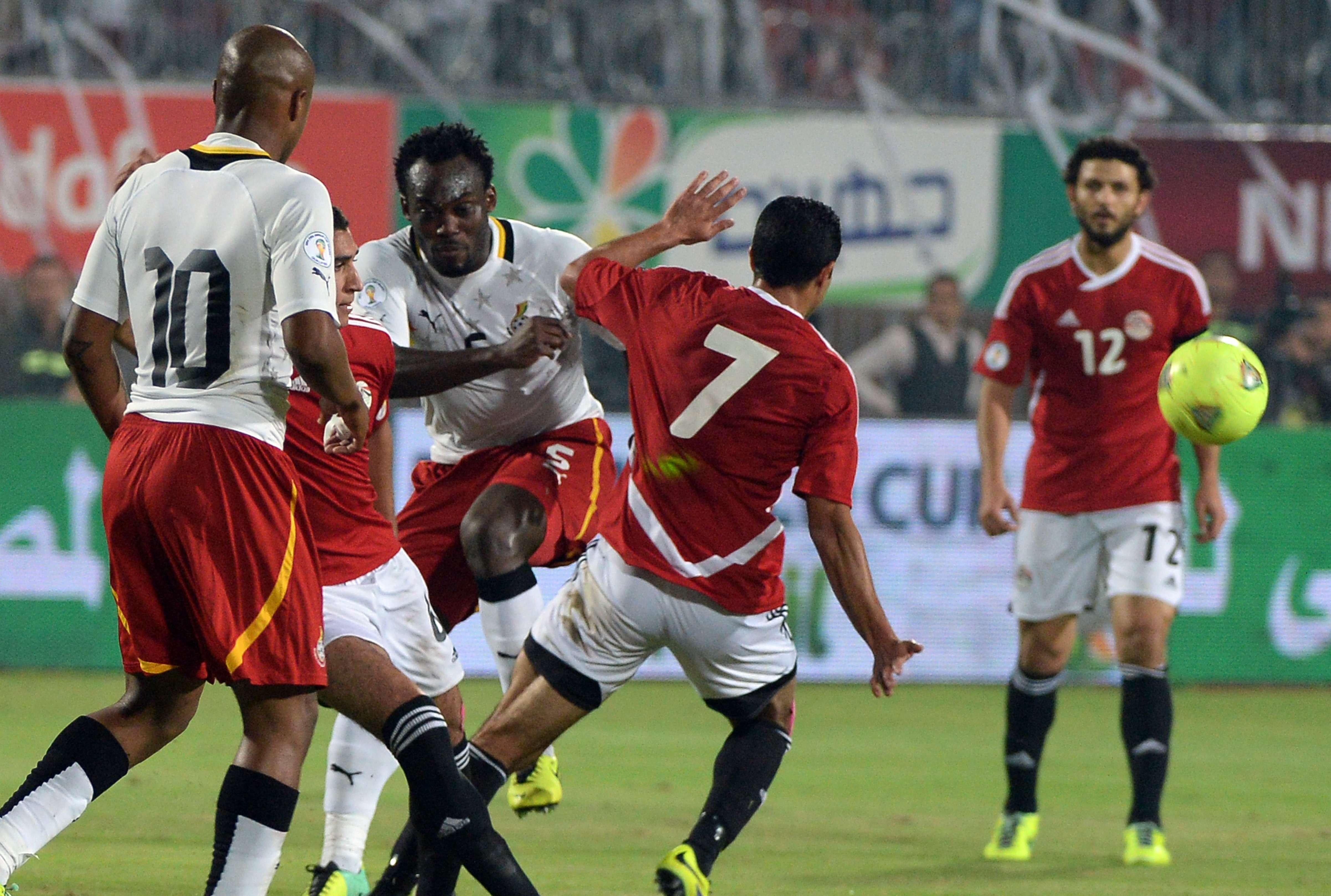 Gana segura vantagem contra Egito e garante vaga na Copa...