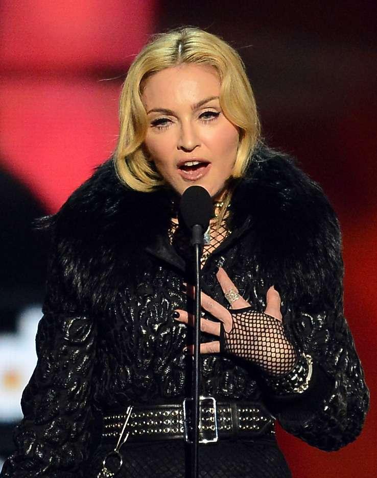 Madonna - Madonna sempre representou a gama de mulheres confiantes com seus dentes separados. Muitos consideram que o sucesso do gap teeth se dá pela naturalidade que a aparência ganha. Foto: Getty Images