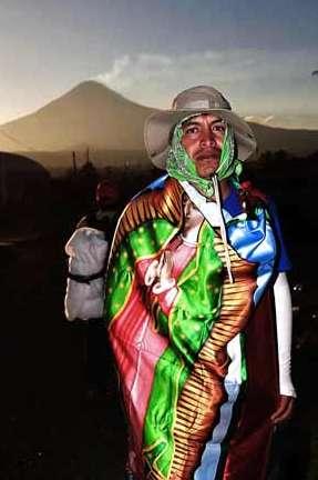La fe mueve a peregrinos guadalupanos