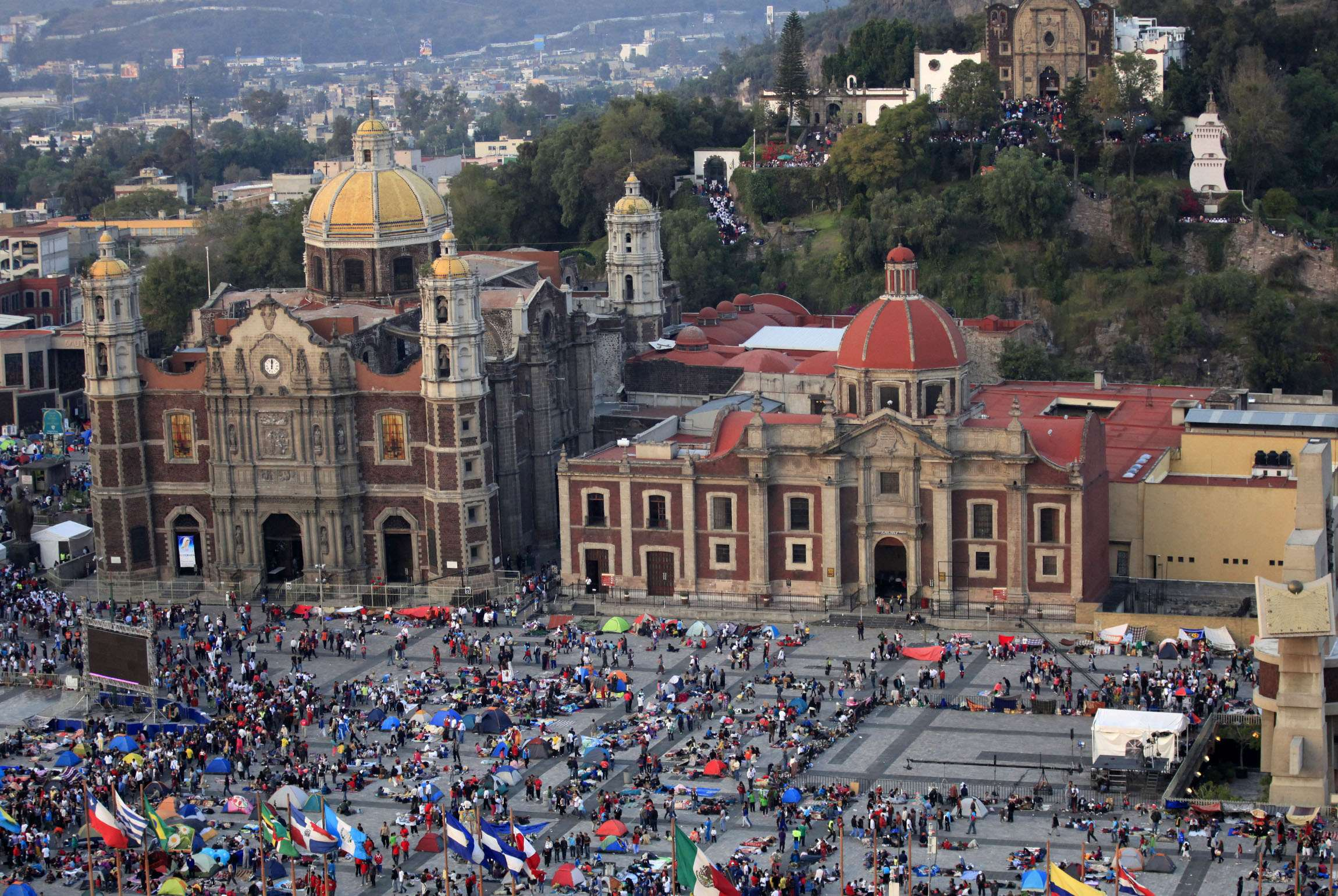 Basílica de Guadalupe: GAM reporta 7 millones de peregrinos