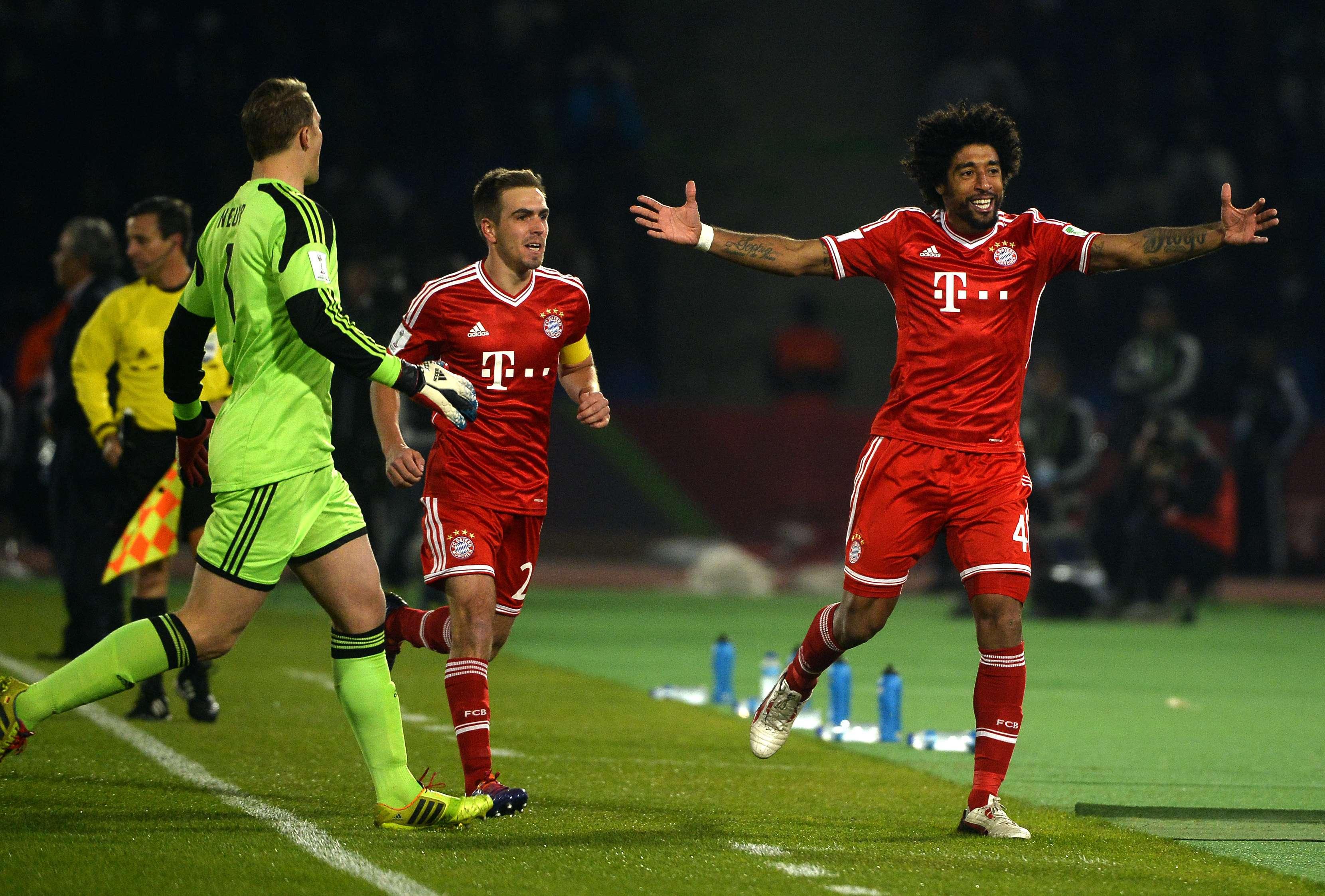 """Brasileiros do Bayern aquecem festa fria: """"para eles não..."""