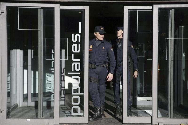 El PP entregó a Ruz 5.000 folios sobre las obras de reforma de Génova Foto: Agencia EFE/EFE
