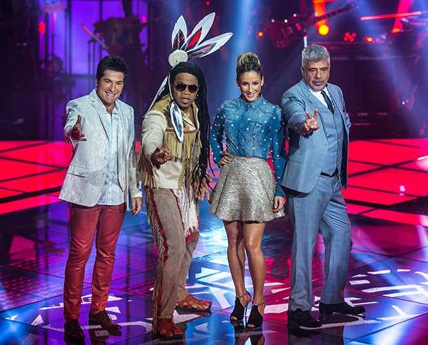 Daniel, Carlinhos Brown, Claudia Leitte e Lulu Santos são os técnicos do 'The Voice' Foto: TV Globo/Divulgação