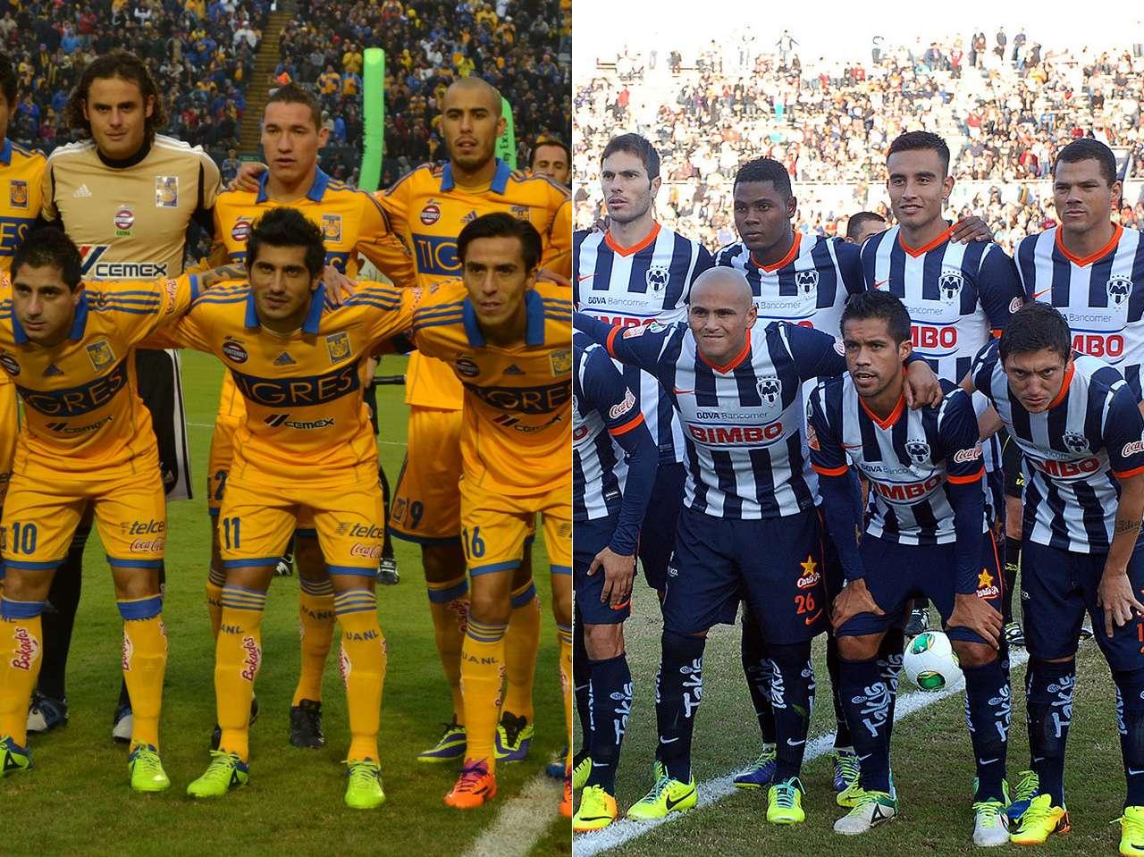Tigres y Rayados apuestan por jugadores no nacidos en México