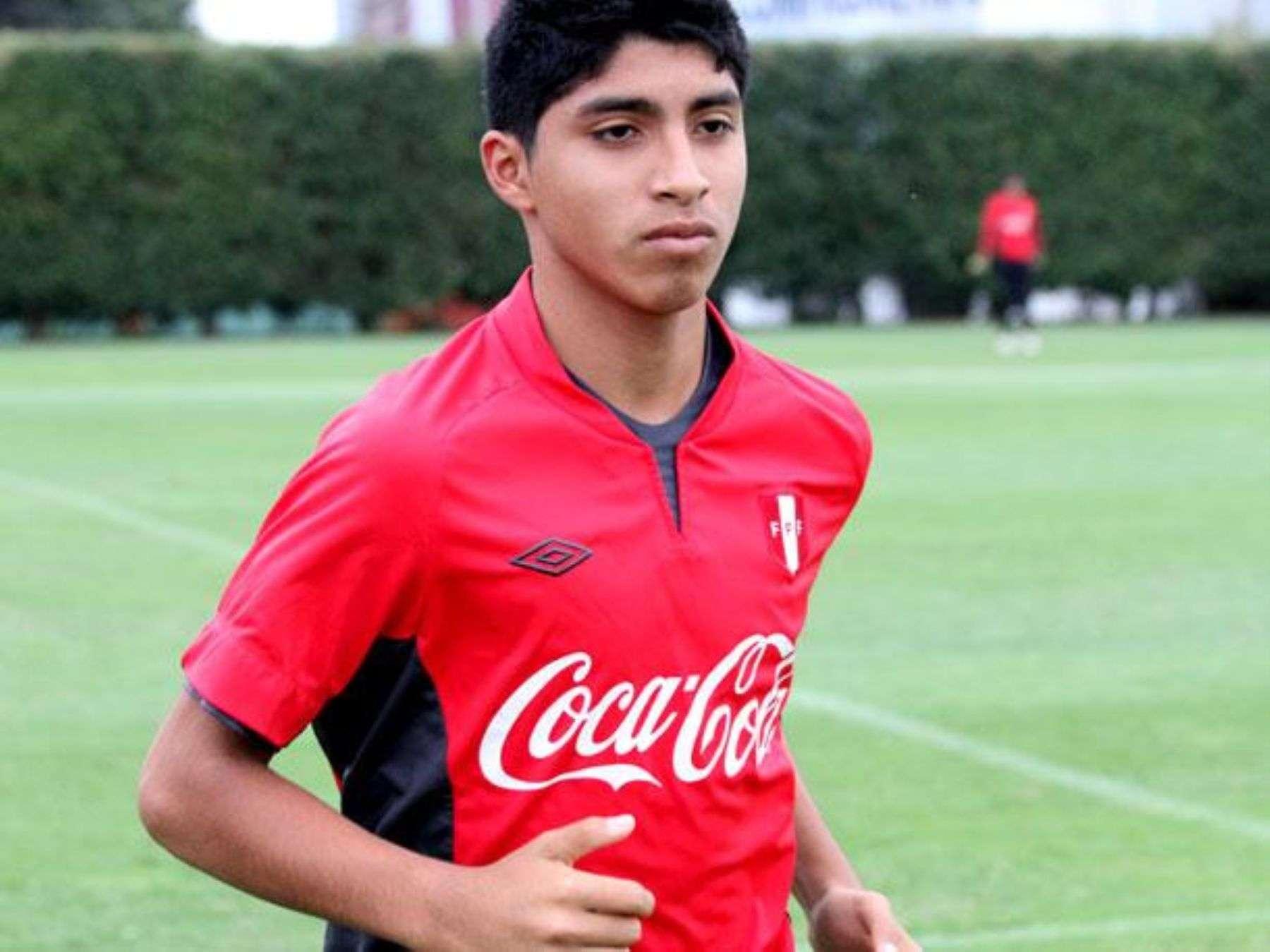 Luis Iberico anotó siete goles en el Sudamericano Sub-15 del 2013, que Perú ganó Foto: Andina