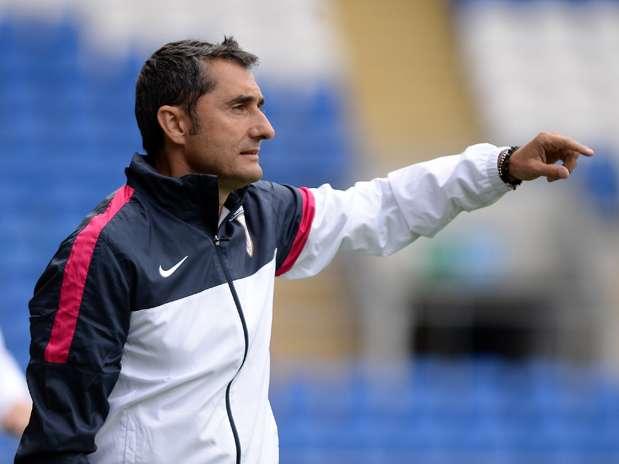 Ernesto Valverde, entrenador del Athletic Club Foto: Getty Images