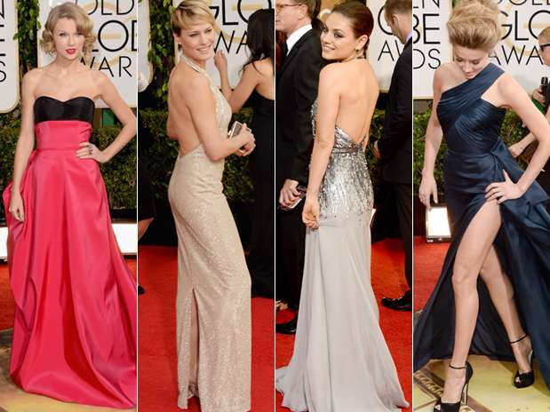 Golden Globe Awards 2014: Sexies escotes por delante y por...