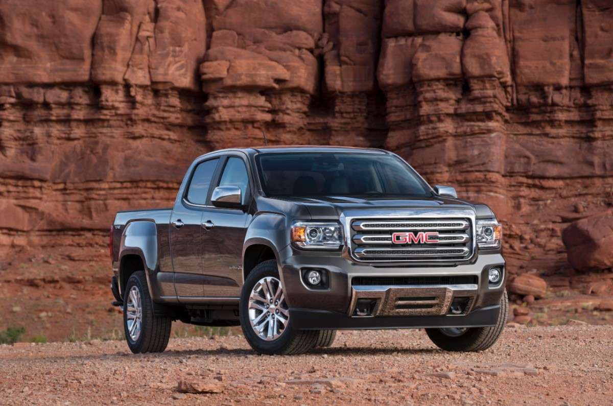 GMC Canyon 2015 Foto: GMC