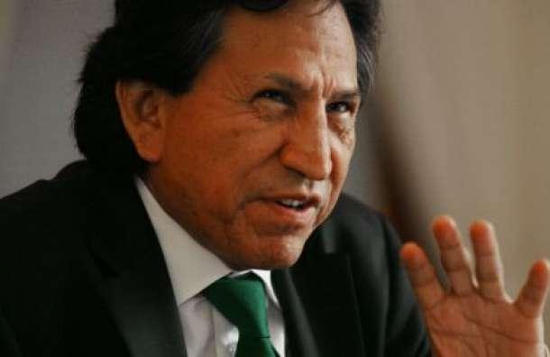 Ex presidente de Perú, Alejandro Toledo Foto: Reproducción