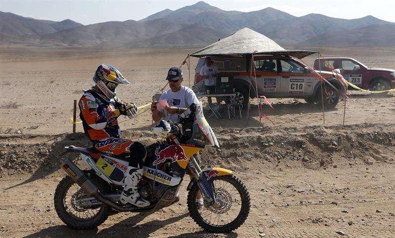 """Coma """"desacelera"""" en etapa 13 y gana en motos el Dakar 2014"""
