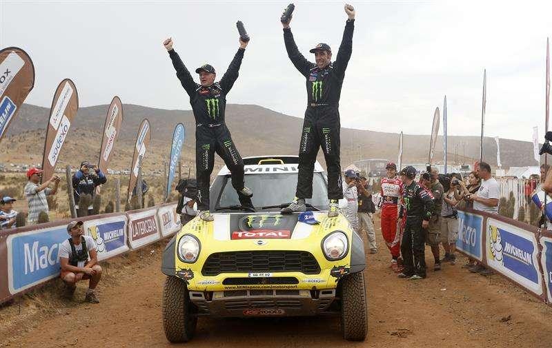 Roma gana el Dakar en autos a 10 años de su primer título
