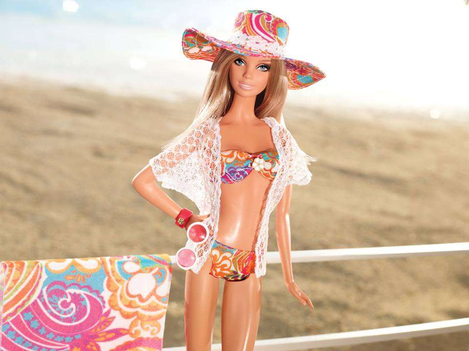 Facebook Barbie