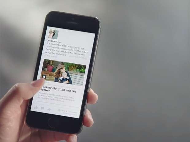 Aplicativo mudará o visual do Facebook Foto: Reprodução