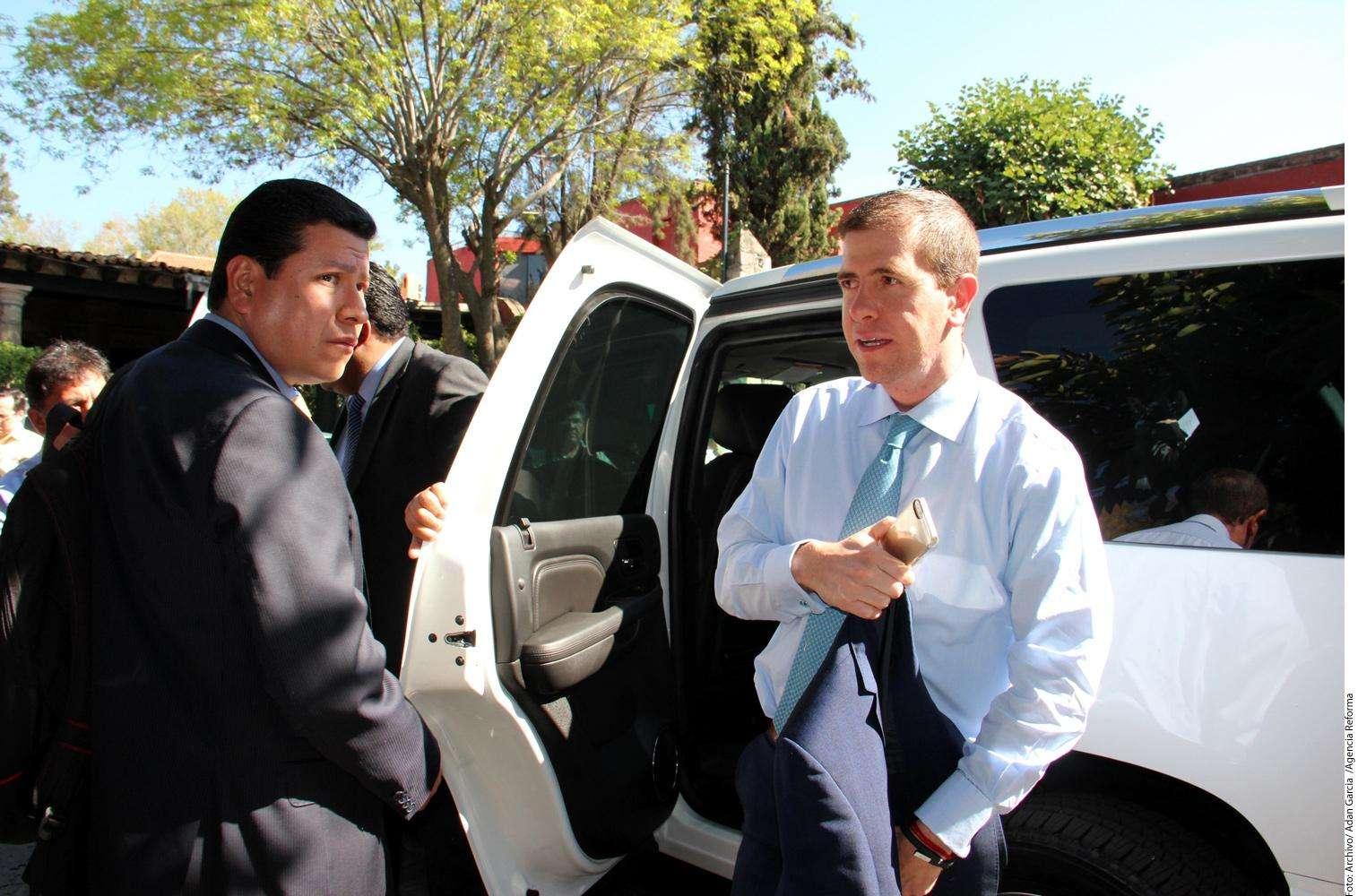 Alfredo Castillo Foto: Agencia Reforma