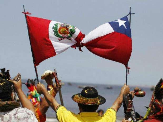 El conflicto territorial entre Chile y Perú no terminó con el fallo de La Haya el 27 de enero. Hoy sigue la disputa por un triángulo de tierra con unos 300 metros de costa. Foto: Reuters