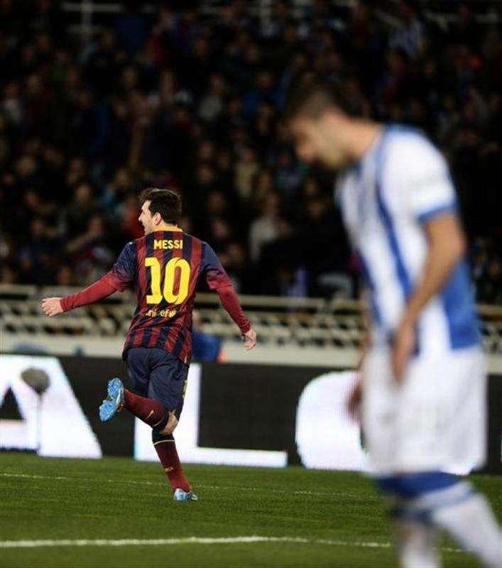 Gol de Messi clasifica a Barcelona a final Copa del Rey ...