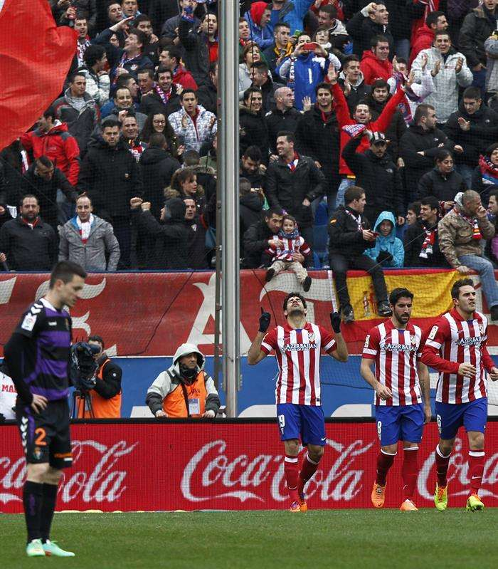 Las mejores imágenes del Atlético - Valladolid
