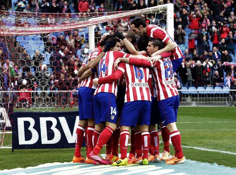 El Atlético se recupera antes de la Champions (3-0)