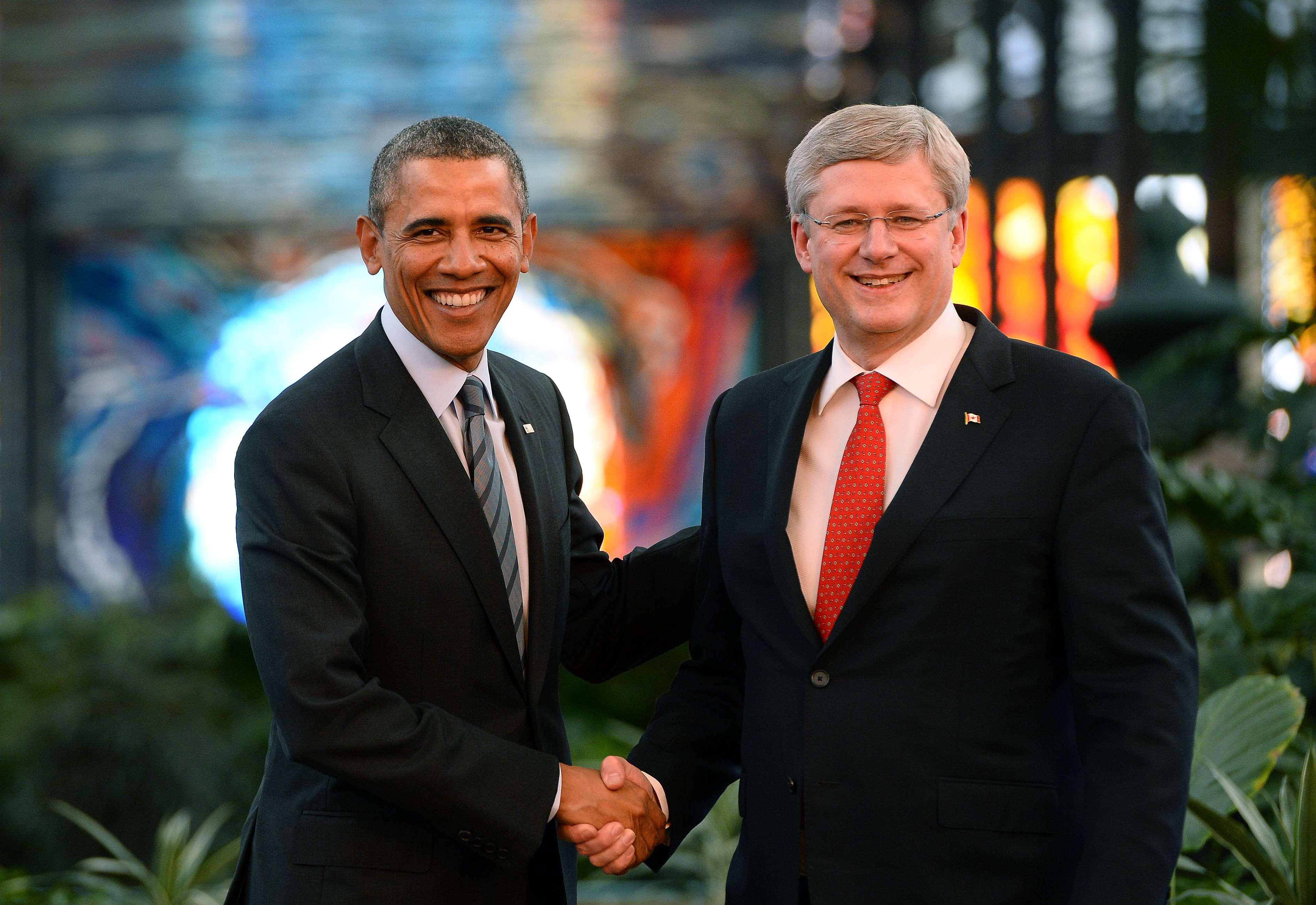 Harper reclama a Obama cervezas que apostaron por el ...