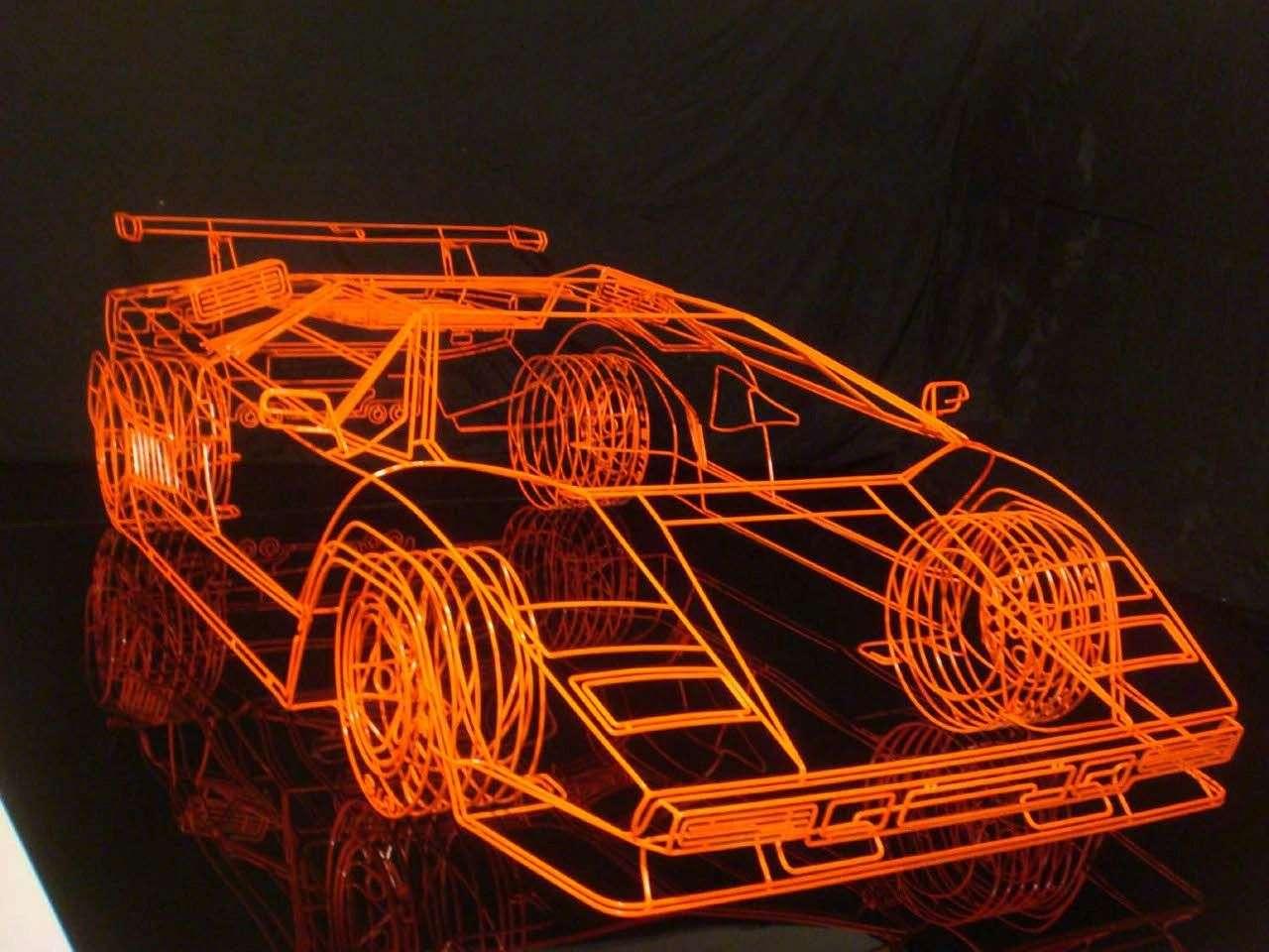 Benedict Radcliffe Lamborghini.jpg Foto: Web