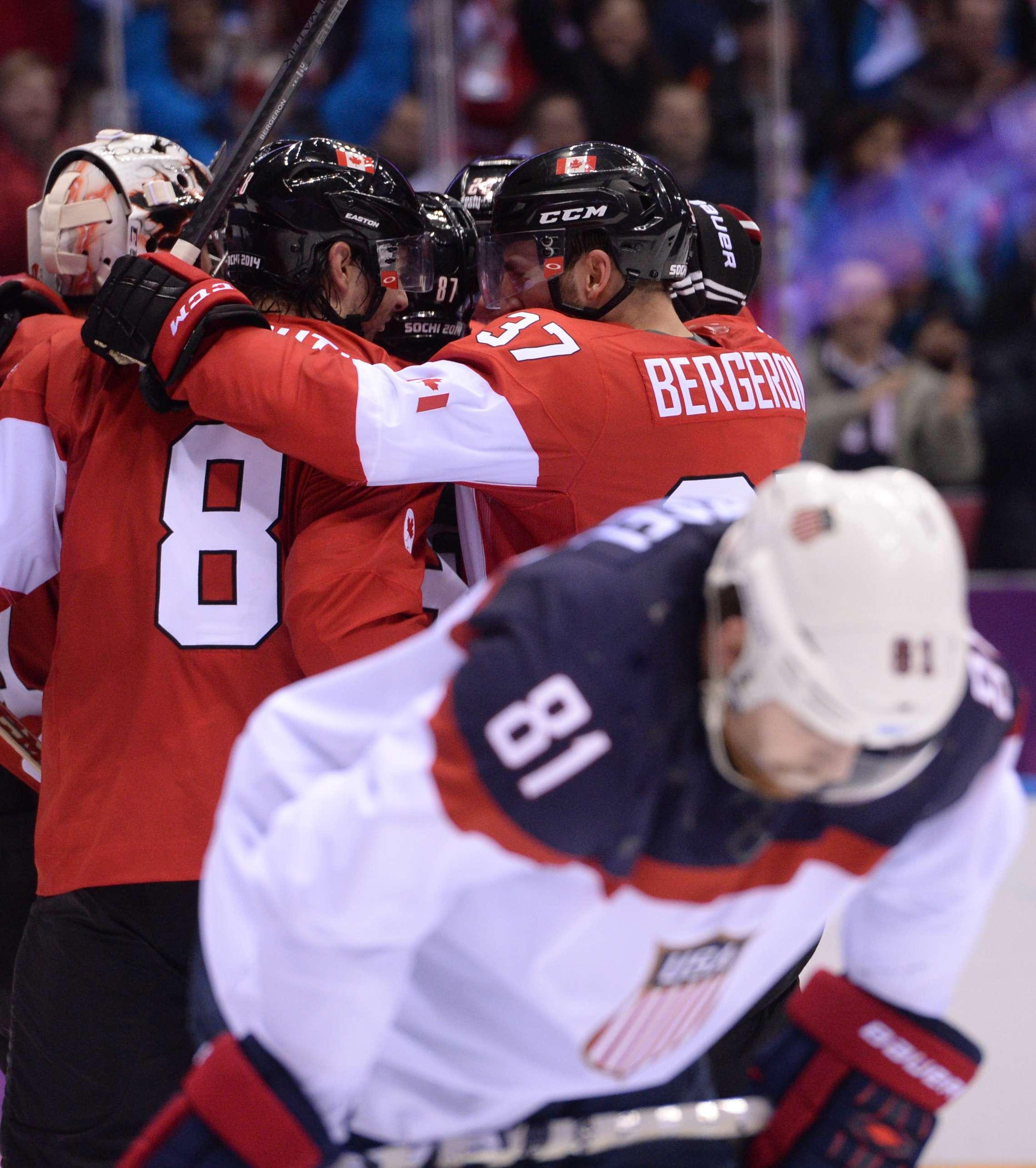 Canadá y Suecia lucharán por el oro en el hockey masculino
