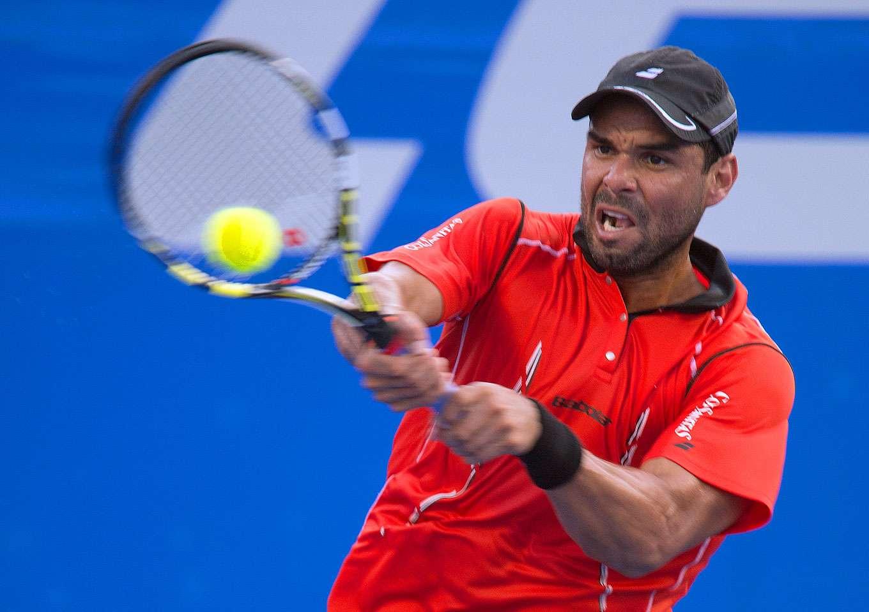 Alejandro Falla, tenista colombiano Foto: David Leah/Mexsport