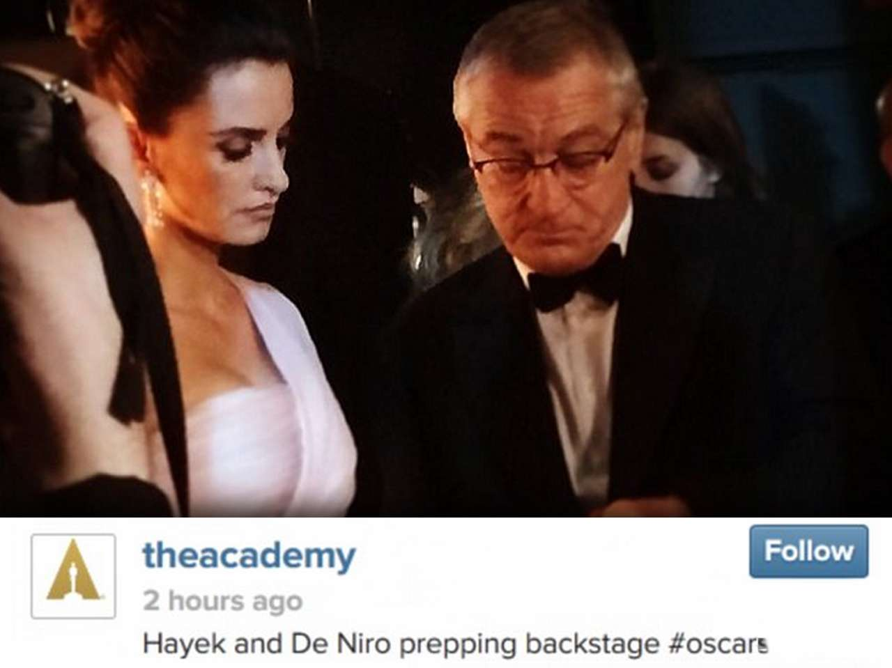 Instagram / TheAcademy