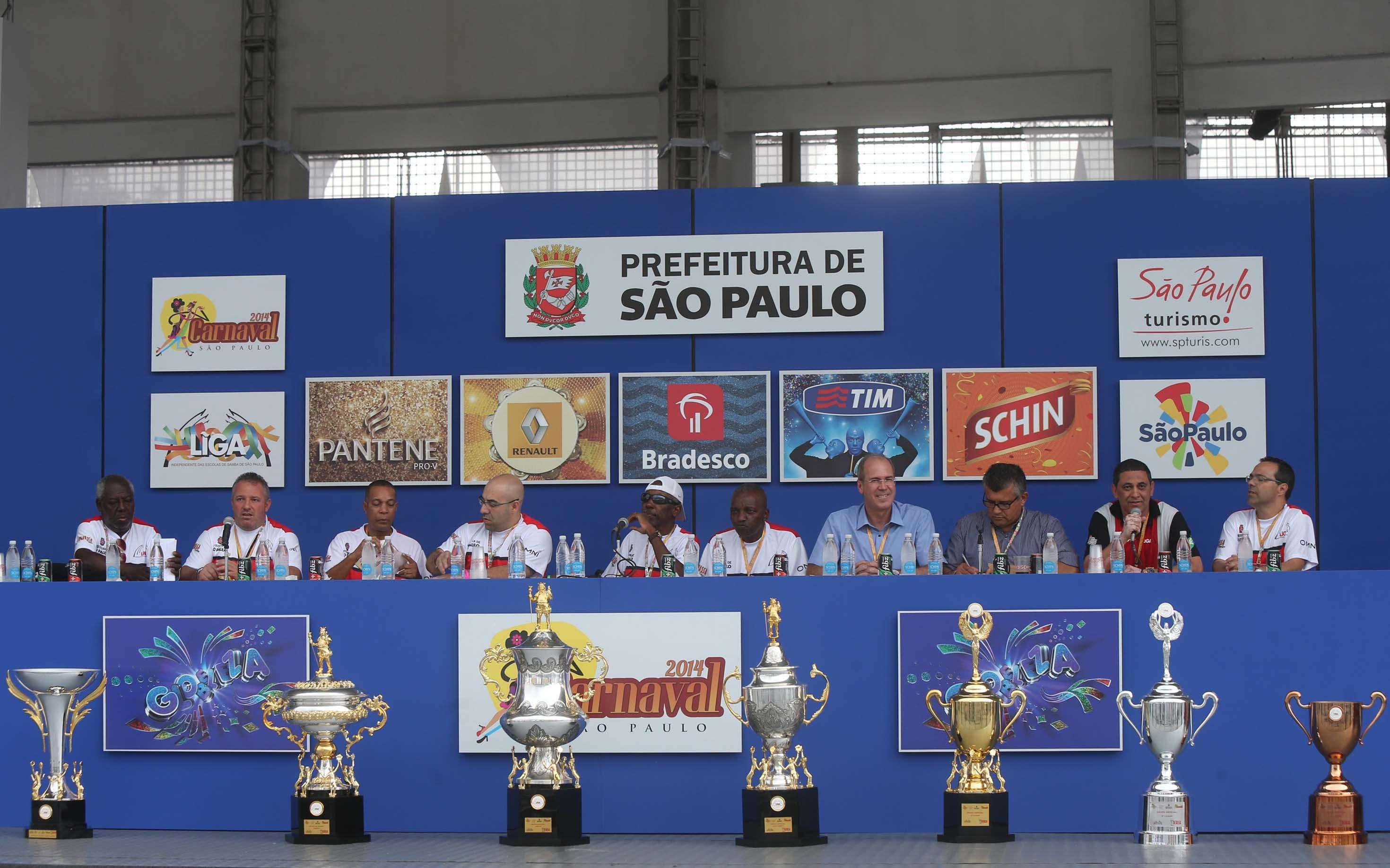 Apuração premia os vencedores dos principais grupos do Carnaval de São Paulo Foto: Marcos Bezerra/Futura Press