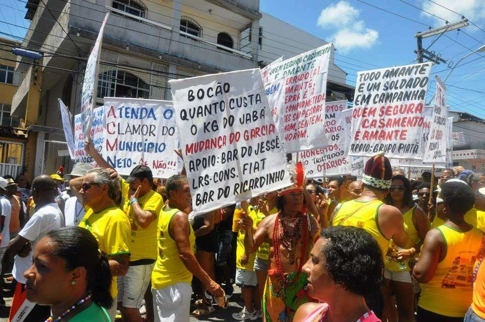 Festa tomou conta das ruas do Circuito Osmar Foto: Rita Barreto/ Bahiatursa/Divulgação