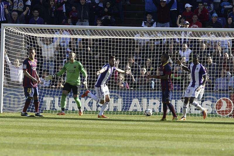 El Barça vuelve a 'pinchar' y a decepcionar (1-0)