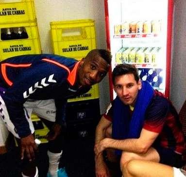 En Valladolid se apuntan a los 'selfies' con Messi