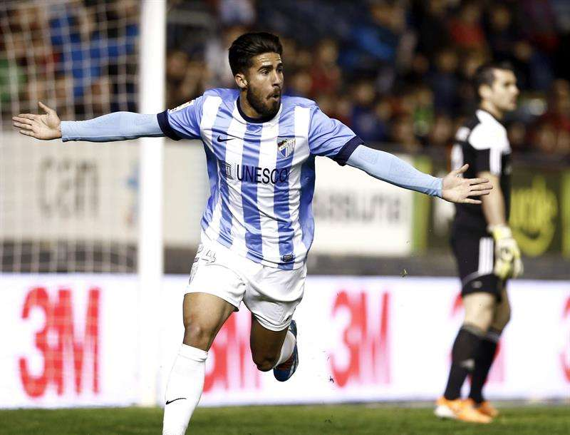 Las mejores imágenes del partido entre Osasuna y Málaga