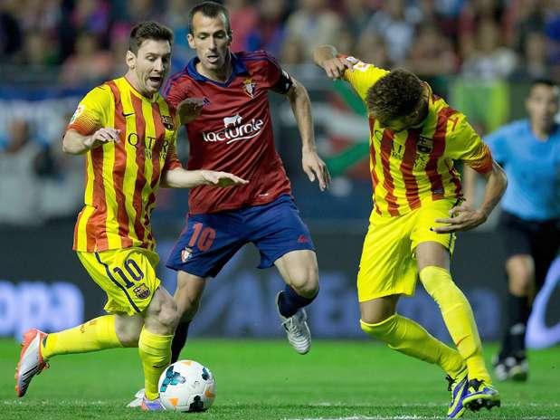 El Clásico del Barça empieza ante Osasuna
