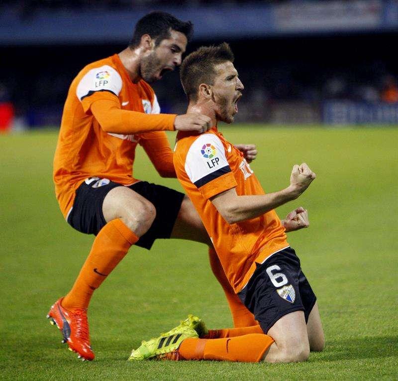 Camacho catapulta al Málaga a la salvación (0-2)